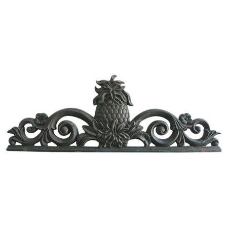 Found it at Wayfair - Colonial Welcome Wall Plaque in Antique Black