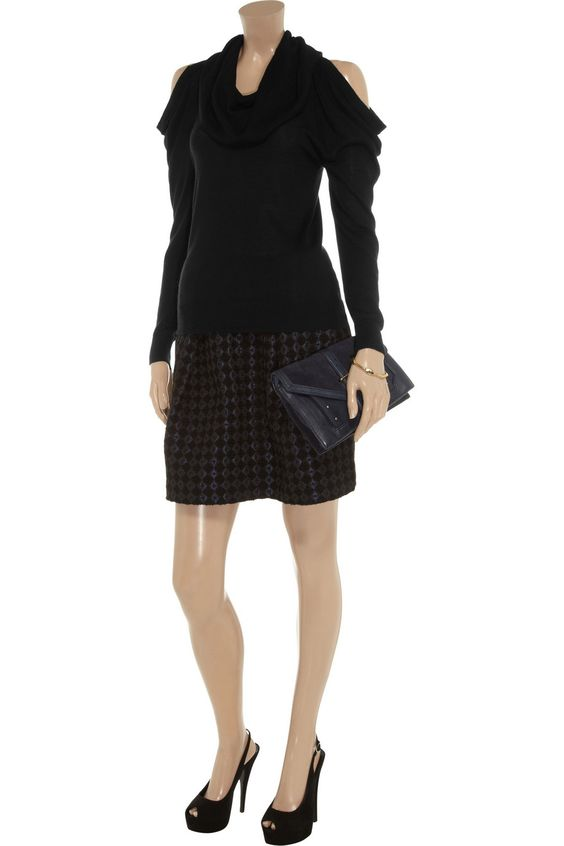 Fine-knit cowl-neck sweater by MICHAEL Michael Kors