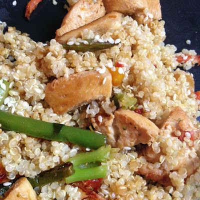 Adventure On! Fitness: Chicken Stir-fry