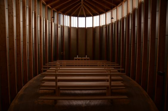 chapel of st. Benedict _  arch. Peter Zumthor