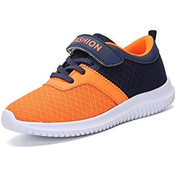 HOBIBEAR Kids Breathable Outdoor Hiking Sneakers Athletic Running Shoes for Boys /& Girls