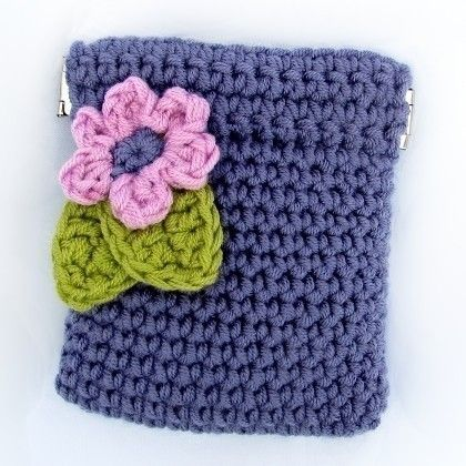 Pattern Crochet Coin Purse Squeeze Pinch Frame with by ketzl