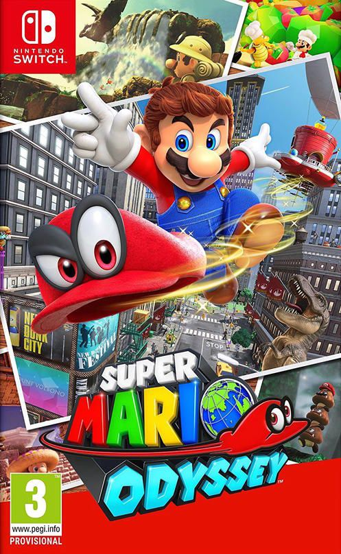nintendo switch spel super mario