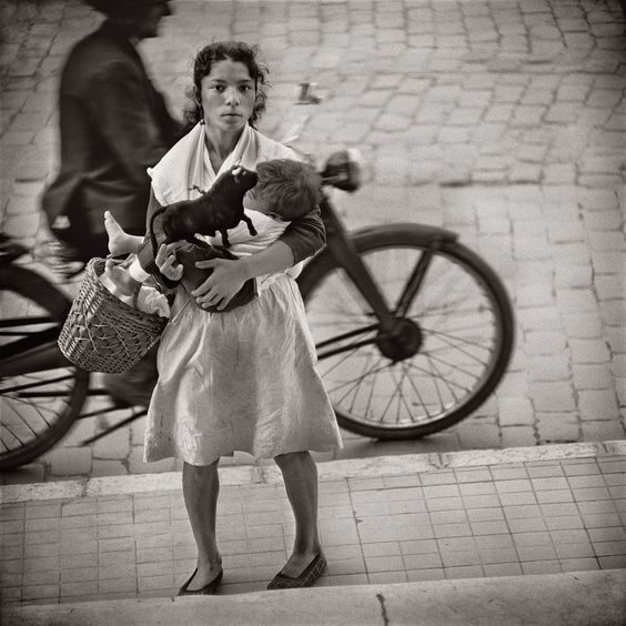 by Jerome Liebling, Mother and Child, Malaga, Spain, 1966
