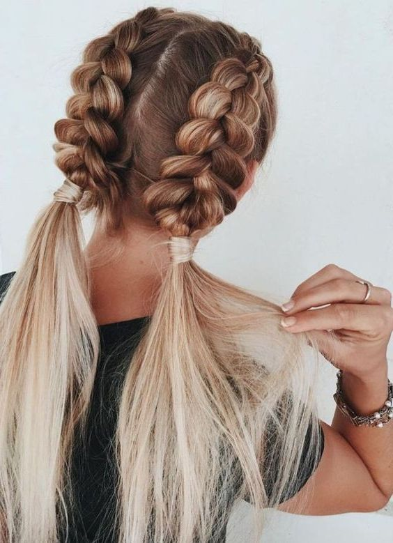 31 Best Trendy And Beautiful Twisted Rope Braid Blonde Hairstyle For Long Hair Haircut 15 Haircut Easy Hairstyles Cute Braided Hairstyles Long Hair Styles
