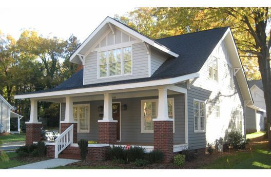 Bungalows house and craftsman on pinterest for House plans with clerestory windows