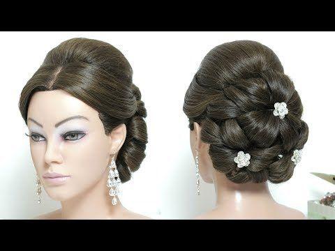 Elegant Wedding Updo Bridal Hairstyle For Long Hair Tutorial Youtube Long Hair Tutorial Long Hair Styles Hair Tutorial
