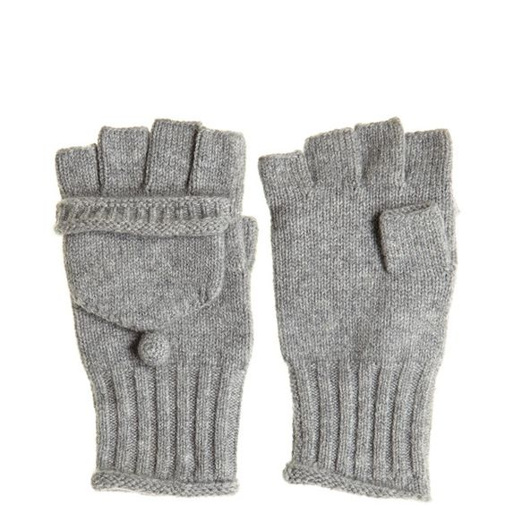 CALYPSO St. Barth Molise Cashmere Blend Flip Gloves (225 ILS) ❤ liked on Polyvore featuring accessories, gloves, 32. miscellaneous accessories., other, calypso st. barth, convertible mitten gloves, flip gloves, convertible gloves and flip mittens