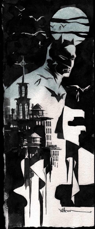 I love Dustin's work. Batman by Dustin Nguyen