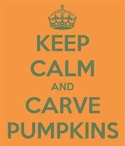keep calm carve pumpkins (Slammed by Colleen Hoover)