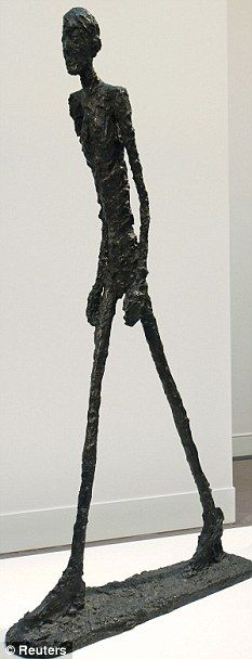 alberto giacomettis lhomme qui marche greed vanity and