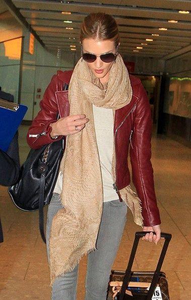Balenciaga bordeaux leather jacket