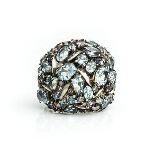 Cool Heather Marquis Cluster Dome Ring #swoon #alexisbittar