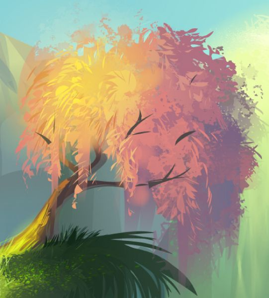Create a Magical Vector Landscape Using Illustrator - Tuts+ Design ...