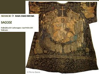 """Dalmática de Carlomagno"", saccoz, Museo del Vaticano"