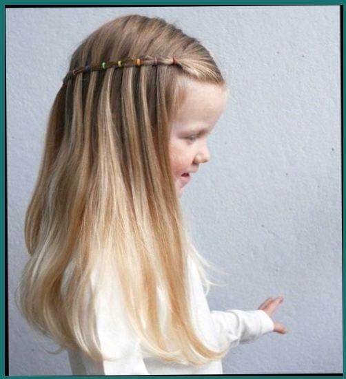 Peinados para ninas pelo largo faciles