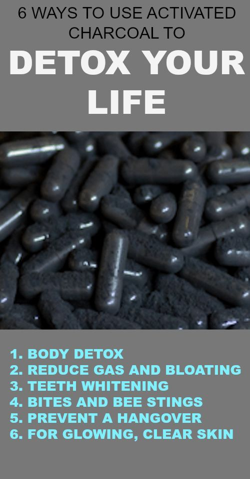 Activated charcoal can be used at home for things daily detox, digestive issues, whitening teeth, brightening the skin, and more.