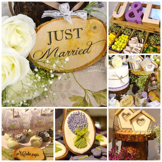 Just Married, Candy Bar Bodas a todo trapo. Just Married Candy bar for weddings
