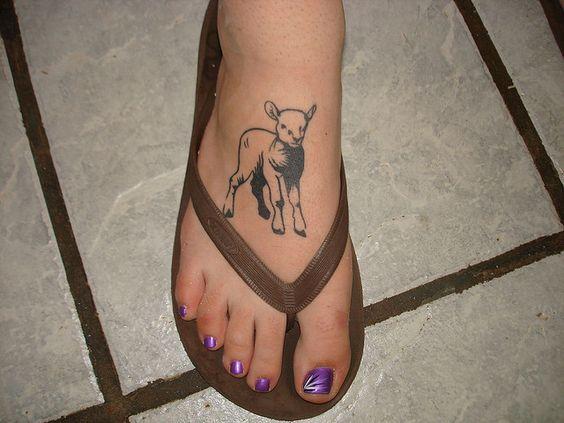 Lamb tattoos nail art rockabilly and art for Tn tattoo laws