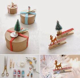 Hello!   Faltando apenas 5 dias para o natal!! Ueba \o/   Chegou a hora de preparar as receitas de família e embrulhar os presentes e ser mu...