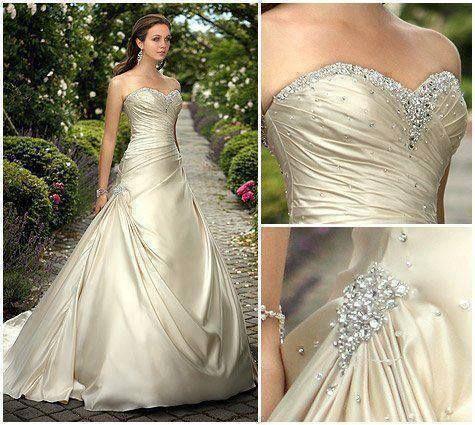wedding dress #detail