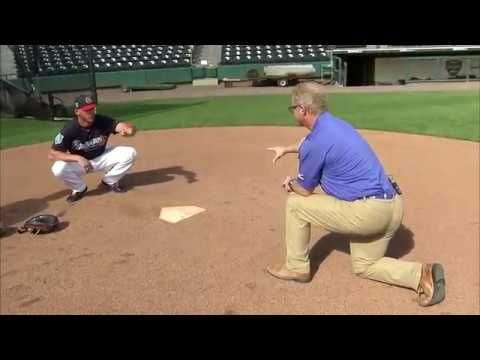 Practice Like The Pros Braves Catcher Tyler Flowers Teaches How To Frame Pitches Youtube Baseball Catcher Baseball Drills Braves