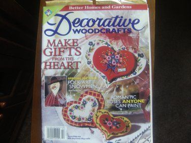Ivanhoe162 on Ecrater-The Great Ebay Alternative: Better Homes and Gardens Decorative WOODCRAFTS Feb...