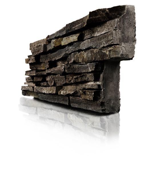 Panel de piedra natural stonepanel laja multicolor ideal - Casas de piedra natural ...