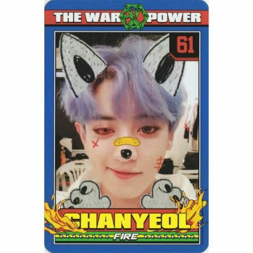 #CHANYEOL #EXO #POWER #PHOTOCARD