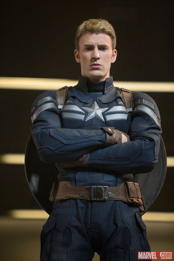 Chris Evans stars as Captain America in Marvel's Captain America: The Winter Soldier: