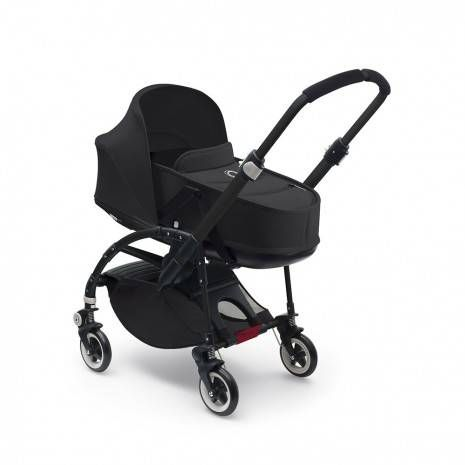 Bugaboo Bee 3 Complete + Carrycot - Black/Black