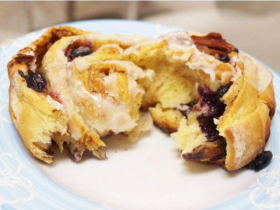 Bolinho de canela, blueberries e nozes    Tortas e bolos   Receitas Gshow