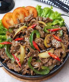 Cara Membuat Beef Bulgogi Resep Makanan Asia Resep Daging Sapi Resep Masakan