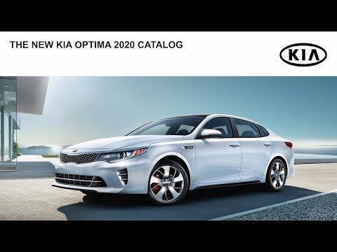 Kia Optima 2020 Catalog Youtube Kia Optima Kia Auto Catalog