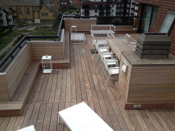 Houten terras in cumaru hout by pro houten terras pinterest - Terras hout ...