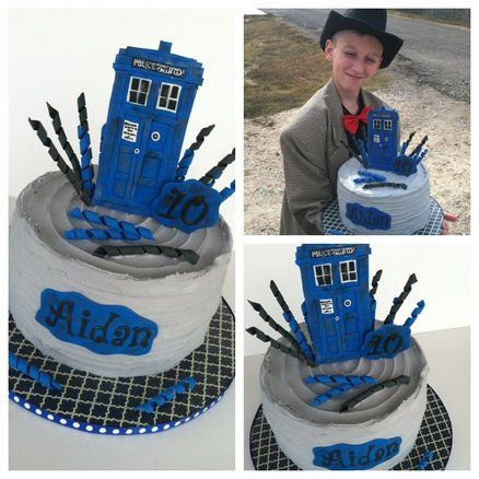 Dr Who Cake Ideas
