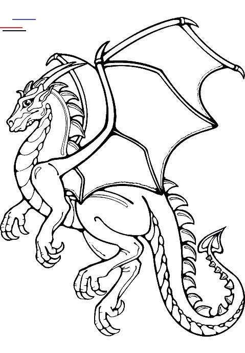 Dragon Coloring Pages The Article Features Both Realistic And Cartoon Forms Of Dragons Like Flying Dragons D Dragon Coloring Page Dragon Quilt Coloring Pages