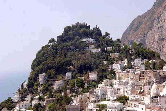 ilha italiana de Capri