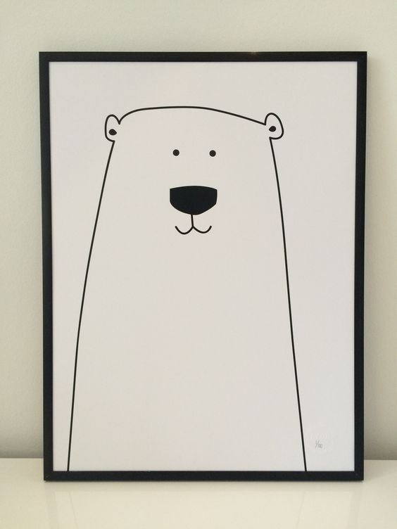 Den meget populære isbjørne plakat er nu at finde hos BY LUX - passer perfekt ind på et børneværelse. Det er en alletiders plakat til børn i alle aldre. http://bylux.dk/shop/plakat-til-boern-732p.html