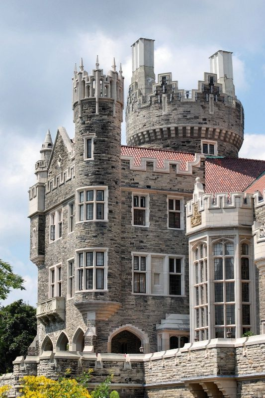 Beautiful bristol and ontario on pinterest for Casa loma mansion toronto