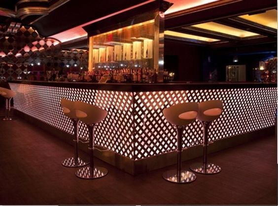 The Ozone Bar Is The Highest Bar In The World On Top Of The Ritz - Bar design tribe hyperclub by paolo viera