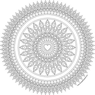 heart sights mandala coloring page in jpg and transparent png format coloringpage. Black Bedroom Furniture Sets. Home Design Ideas