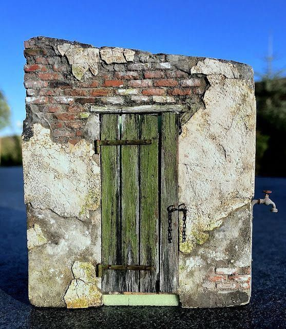 Vortex Hobbies Coupon Code Hobbiesjapan Id 7254862099 Rustic Doors Diorama Christmas Nativity Scene Diy