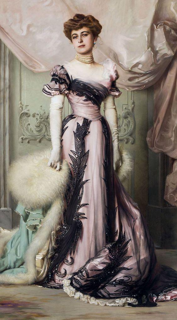 Countess Carolina Sommaruga Maraini (1869-1959)   Vittorio Matteo Corcos (date unknown):