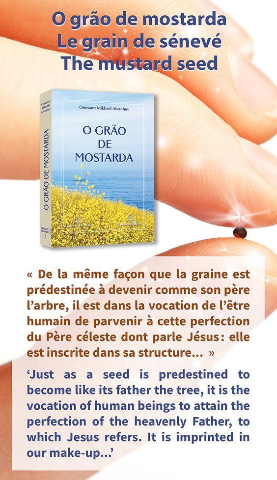 """Portugal - Nouvelle traduction du co-éditeur Publicações Maitreya : """"Le grain de sénevé"""" / Portugal - New translation from co-publisher Publicações Maitreya: 'The mustard seed' Português : http://tinyurl.com/jlw7nsy Français : http://www.prosveta.com/api/product/C0004FR"""