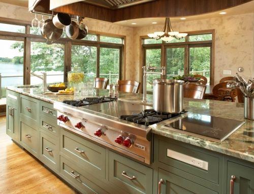 Quiet Comfort Kitchen In 2020 Kitchen Island With Cooktop