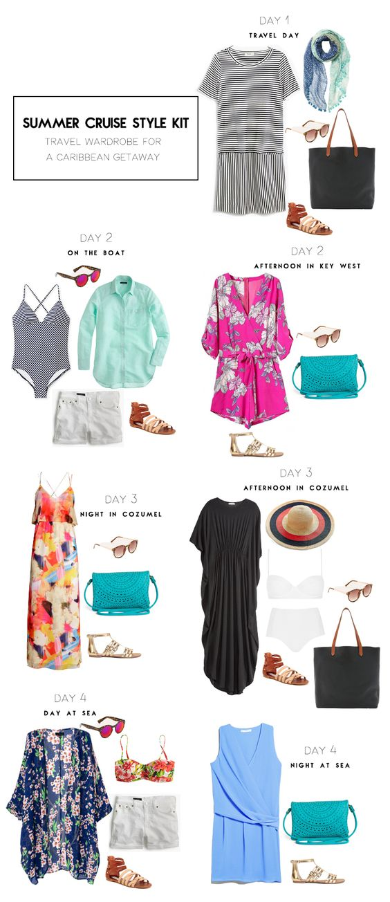What to wear during a 4-day Caribbean cruise | Kinks are the new Pink