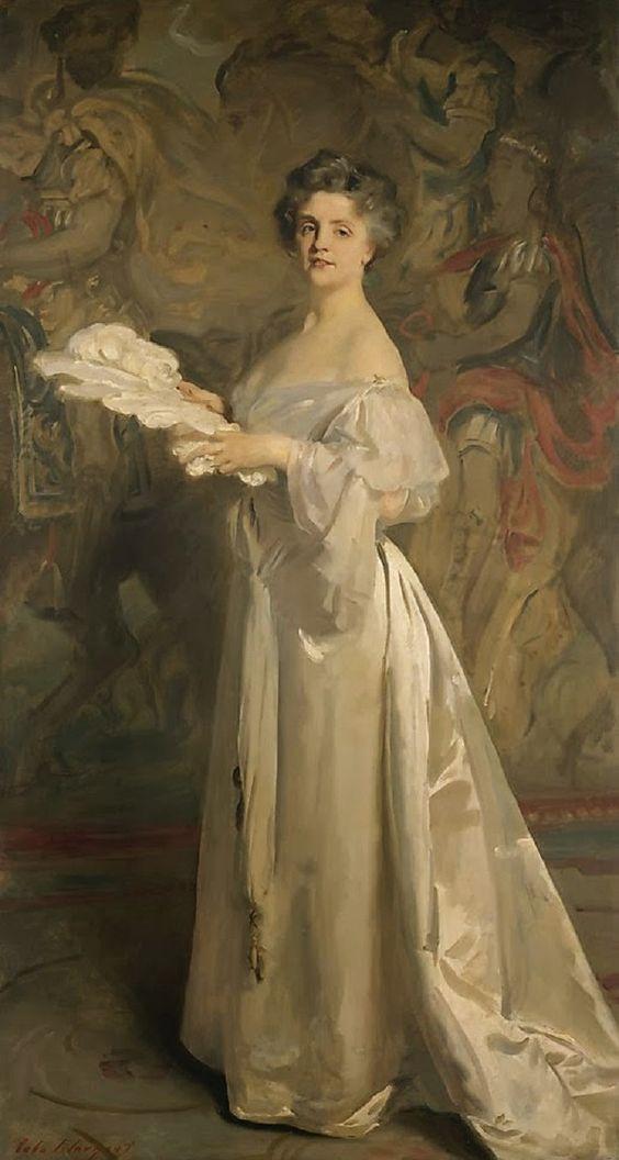 """Ada Rehan"", 1894-1895, by John Singer Sargent (American, 1856-1925)"