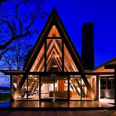 First popularized for their simple design and affordable cost, today's A-Frames are finding renewed interest with design modifications that expand them out—and up.