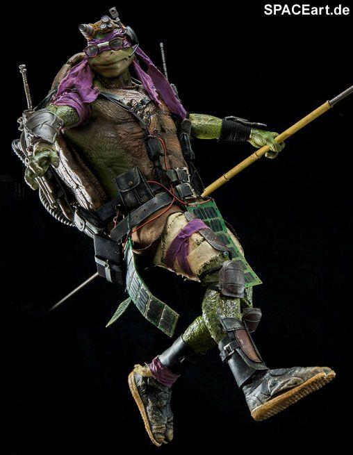 Teenage Mutant Ninja Turtles: Donatello, Deluxe-Figur (voll beweglich) ... https://spaceart.de/produkte/mnt004.php